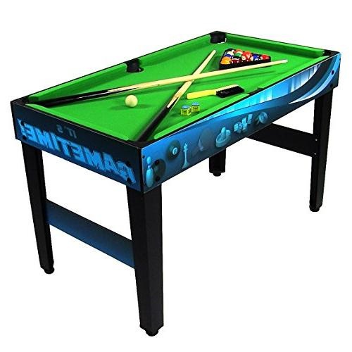 Sunnydaze 10 Multi Game Table Push Pong, Inch