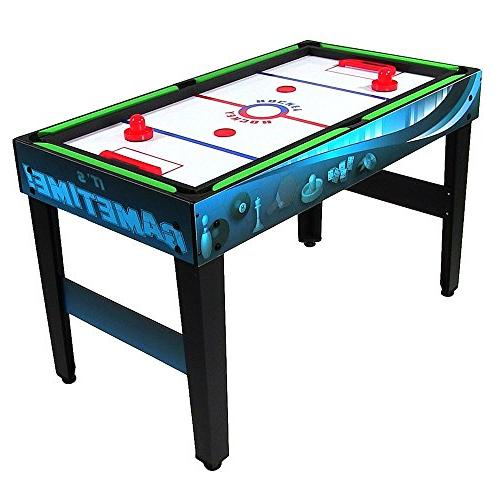 Sunnydaze 10 Combination Game Push Hockey, Foosball, Ping Pong, More, Inch