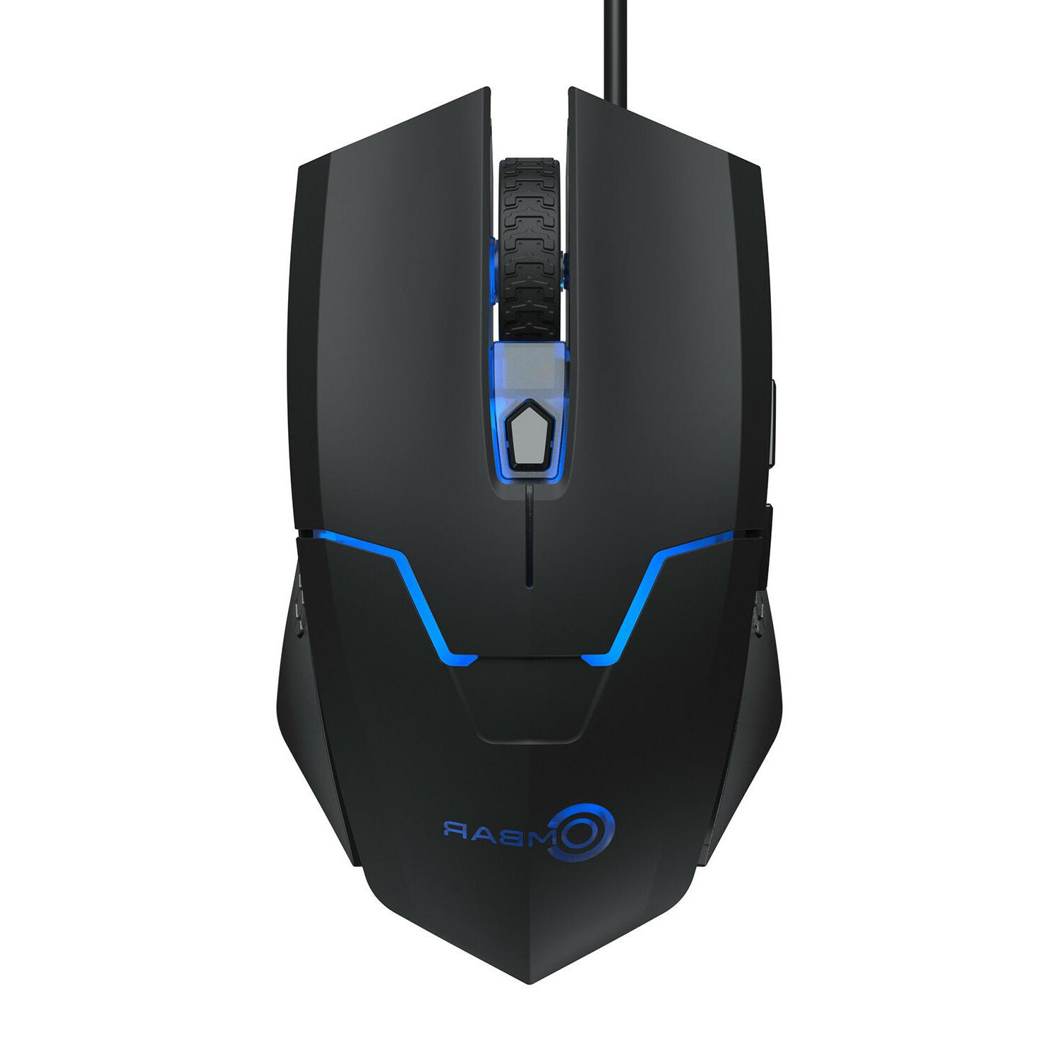 Ombar 2.4G Wired Gaming Adjustable Mice 6D Computer