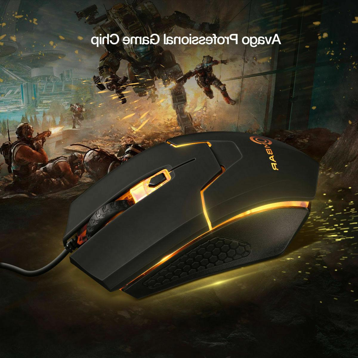 Ombar 4000DPI Gaming Optical Mice 6D For Computer