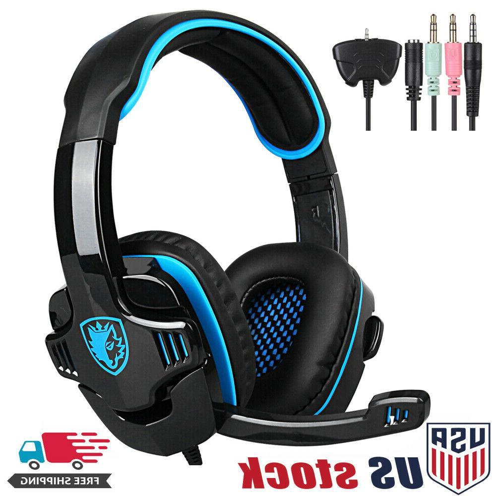 3 5mm surround stereo gaming lol headset