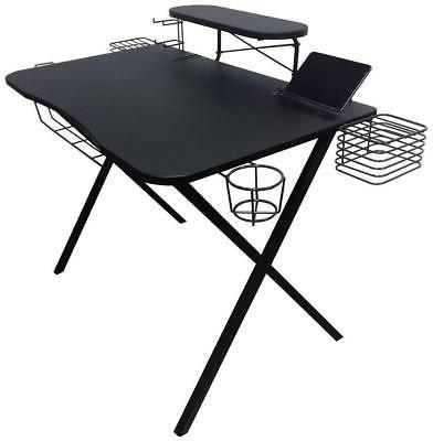 Atlantic 33950212 Gaming Desk Pro Curved-Front - 10 Game, Co