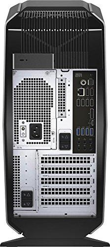 Alienware Performance Gaming Desktop PC, Quad-Core , 8GB DDR4, 1TB HDD, DVD, 10, Silver
