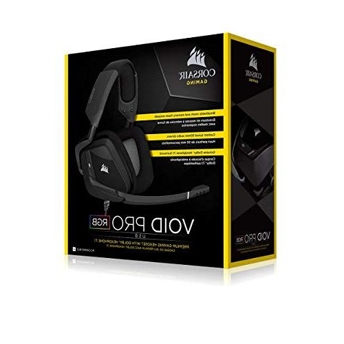 CORSAIR USB - Dolby 7.1 Sound Headphones PC - Discord Certified Drivers