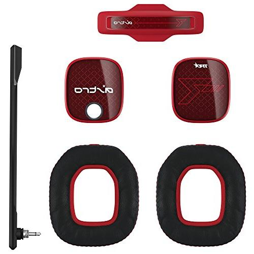 ASTRO Gaming A40 Mod Kit, Noise Cancelling Conversion - Red