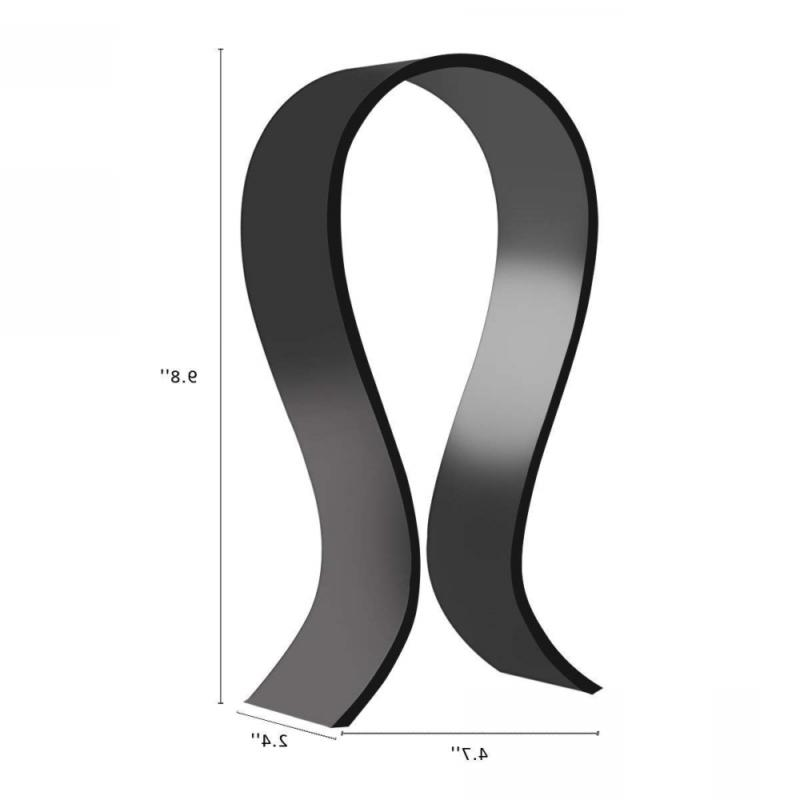 Gaming Headset Holder/Hanger, Extra Thick Black