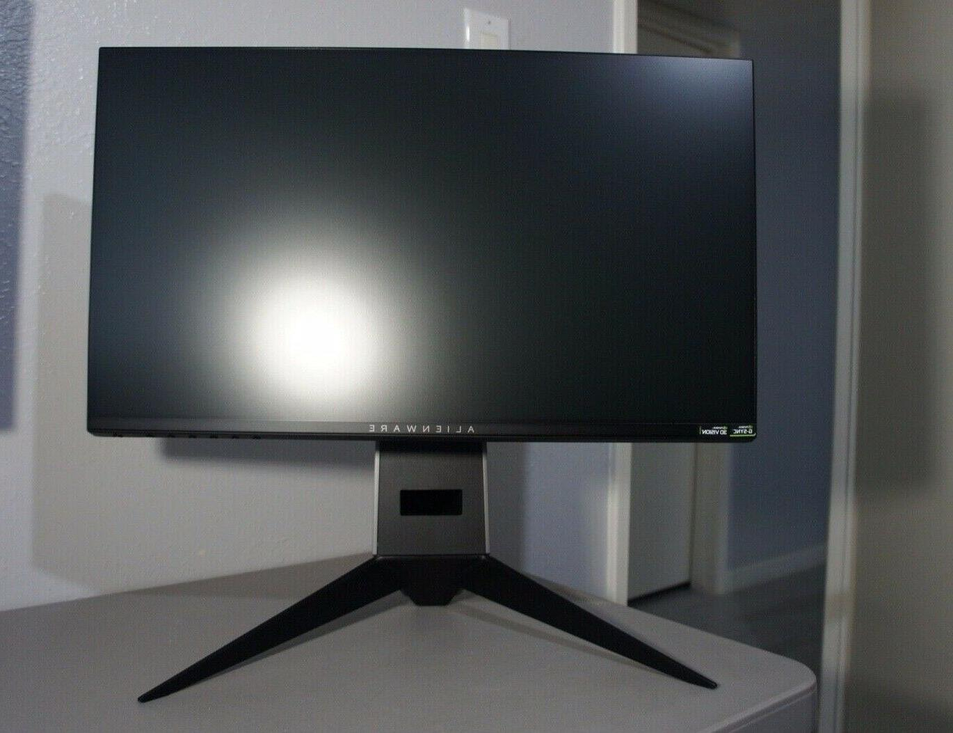 """Dell AW2518H 25"""" Full Gaming Monitor NVIDIA G-SYNC Technology"""