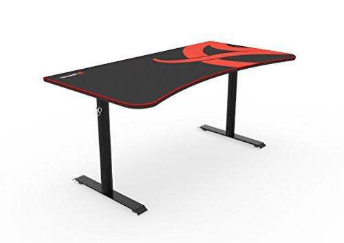 Arozzi Arena Gaming Desk - Rectangle - 62.99 Top Width x Table Depth 31.50 -