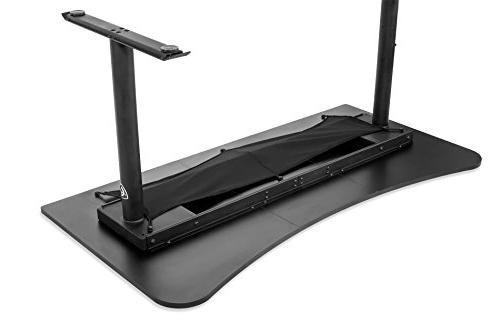 Arozzi Arena - Rectangle Top - 62.99 Table Top x Top Depth - 31.50 Height - Black
