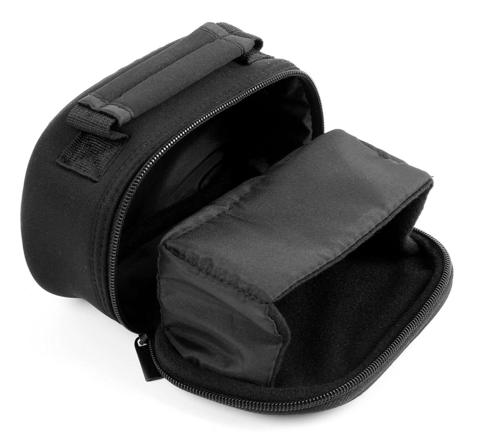 Black Lightweight Padded Case Bag For Roccat Kone XTD Gaming