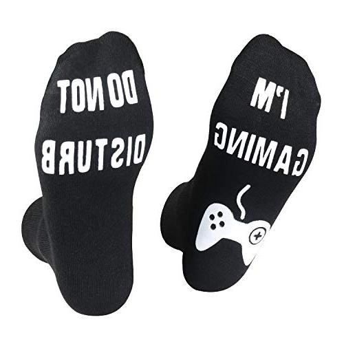 do not disturb i m gaming socks