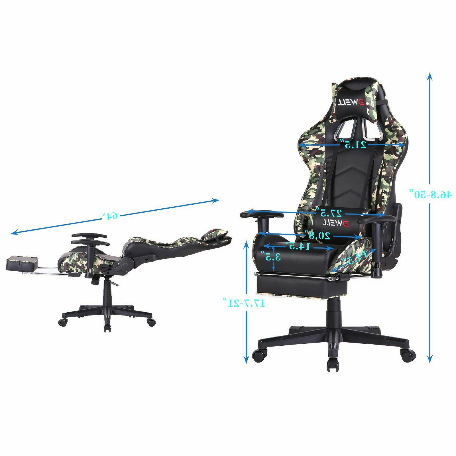 Ergonomic with Footrest Support Chair