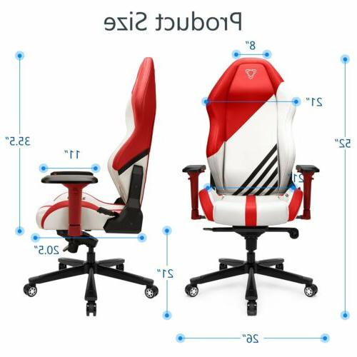 Ergonomic Chair Back Leather Racing Office Computer