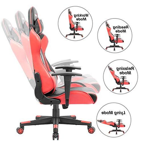 Devoko Racing Style High-Back PC with and Support Executive Office