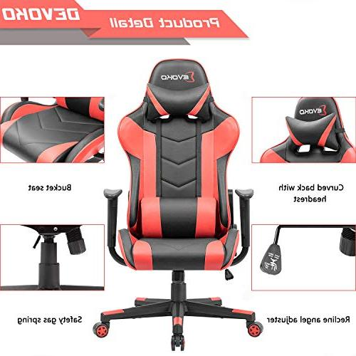 Devoko Gaming Racing High-Back PC Chair with Support Chair