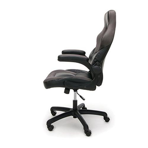 Essentials Racing Style Leather Gaming Swivel Gaming Chair,