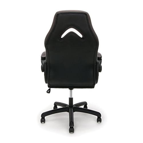 Essentials Racing Style Gaming Swivel Computer, Office Gaming Chair,