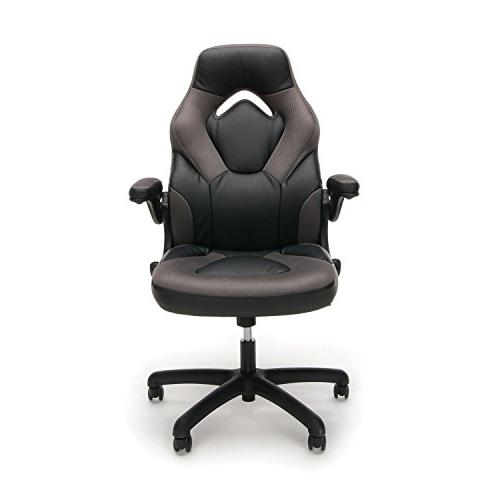 Essentials Racing Gaming Chair Swivel Gaming Chair,