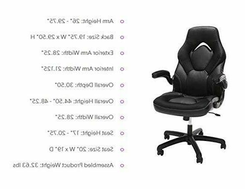 Essentials Racing Gaming Ergonomic Swivel Computer