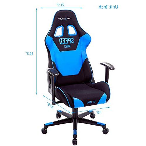 GTRACING Gaming Racing Chair Adjustable Computer Office with
