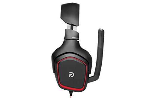Logitech Stereo Gaming Headset On-Cable – Surround Sound Audio – – Rotating Ear – Light Weight Design