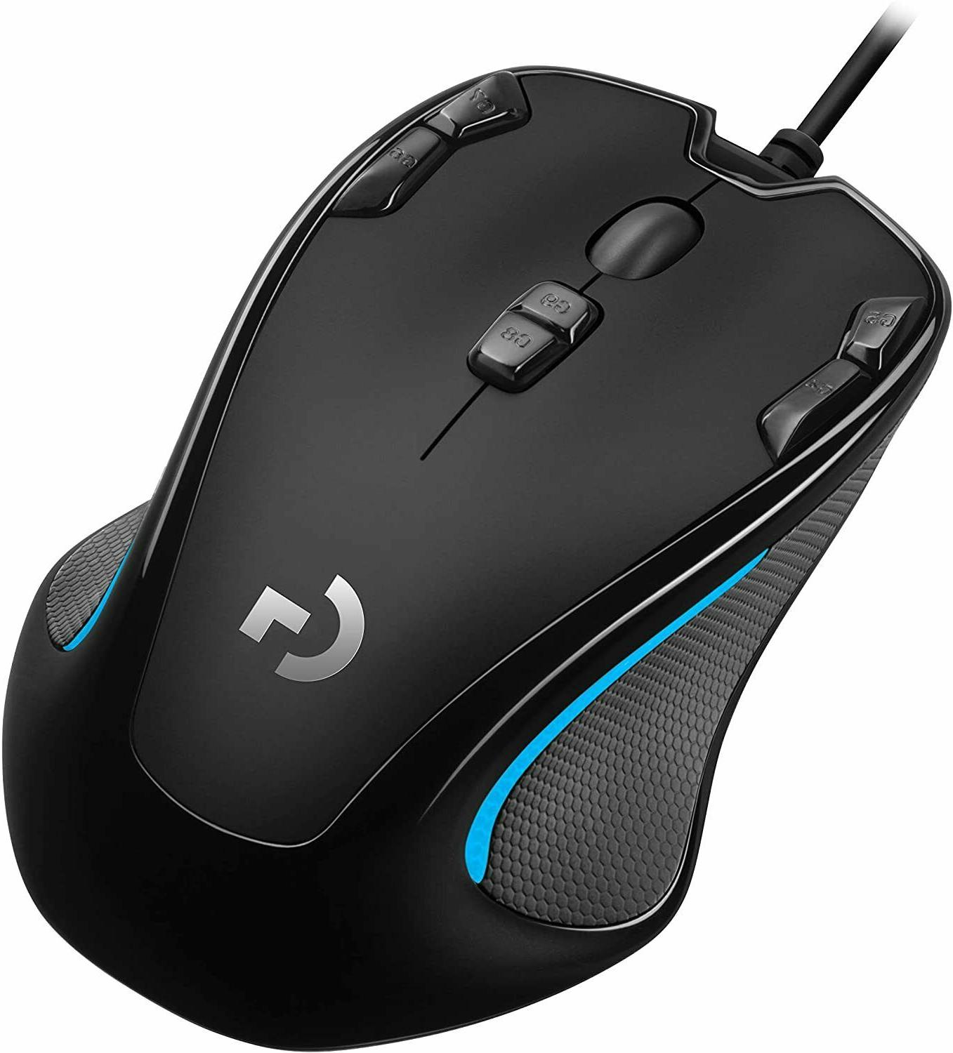 g300s optical ambidextrous gaming mouse 9 programmable