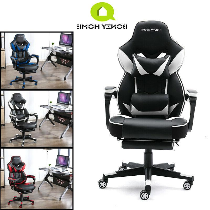 Gaming Chair PU Recliner Computer