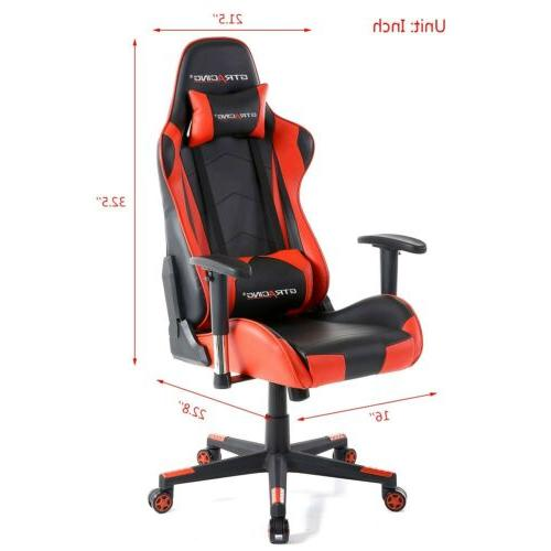 GTRACING Video Backrest and