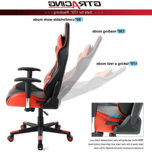 GTRACING Gaming Chair Video Game Chair Backrest and