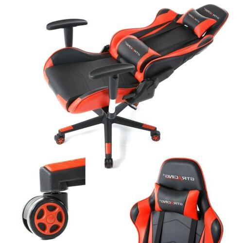 GTRACING Gaming Chair Racing Video Game Chair Backrest