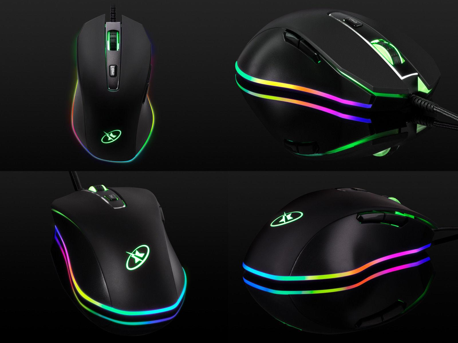 Rosewill Mouse 10000 dpi, Wired Gaming