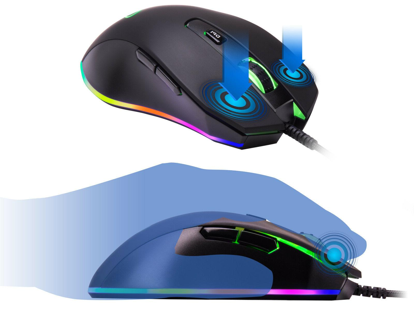 Rosewill Gaming Mouse dpi, RGB M59