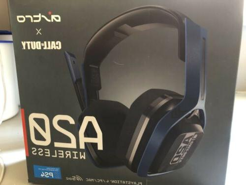 Astro Gaming Wireless Headset A20 For Ps4 Pc Mac With