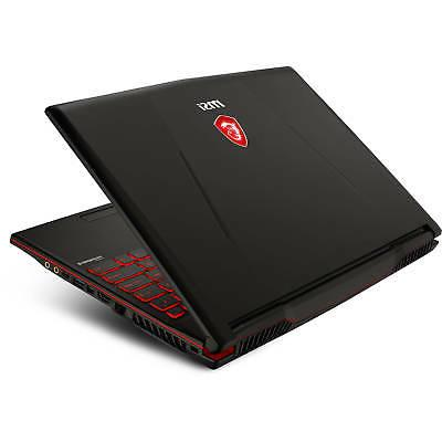 MSI GL63 15.6 Gaming Laptop 1TB-HDD, 4GB-VRAM,