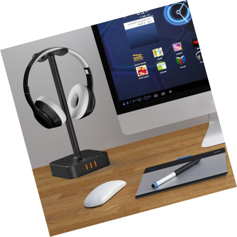 Headphone with Charger COZOO Headset Hanger 3 an