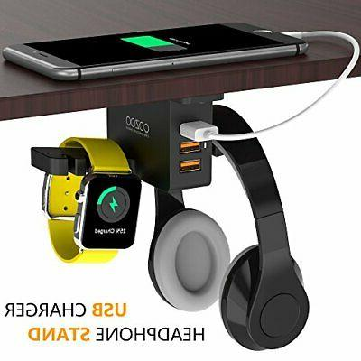 Headphone Charger COZOO Under Desk Headset 3
