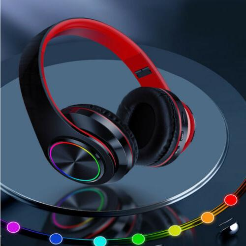 LED Gaming Headset With