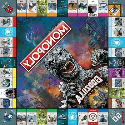 MONOPOLY GODZILLA Table Top Game,