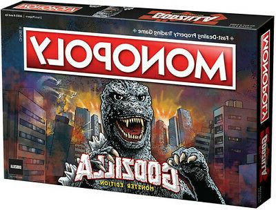 monopoly godzilla new table top game board
