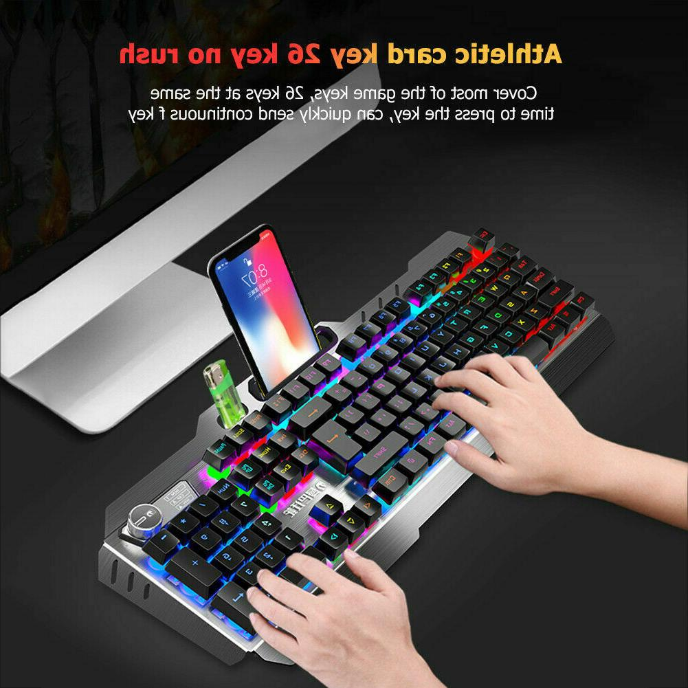 New LED Backlit Mouse and RGB Headset PC Xbox