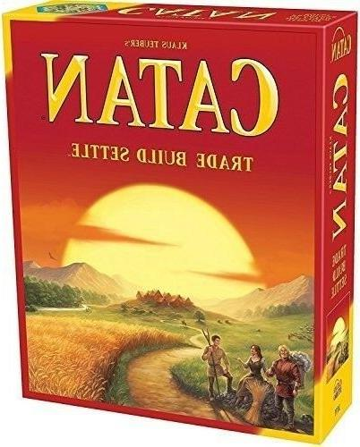 new settlers of catan board game 5th