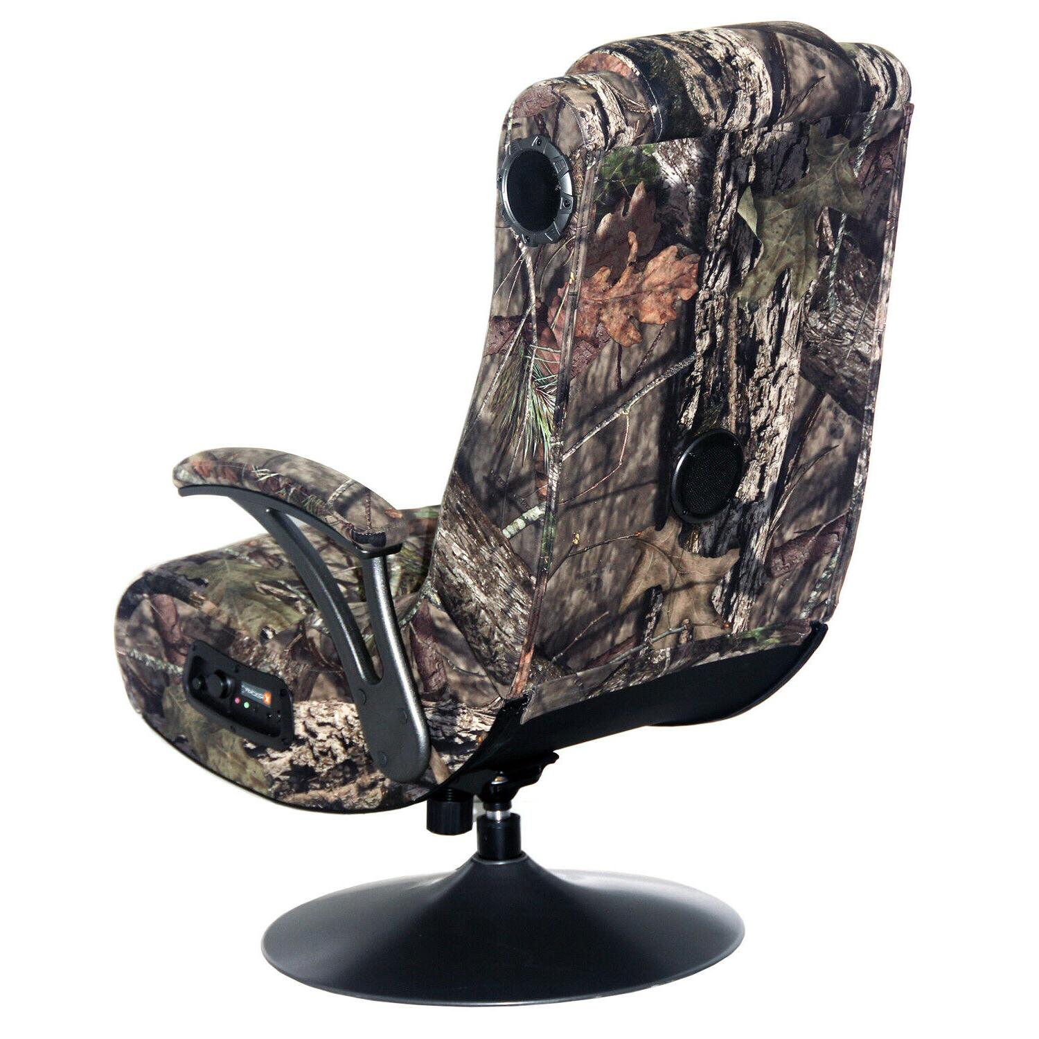 X Rocker Mossy Oak Break Up Country 2.1 Bluetooth Gaming Cha