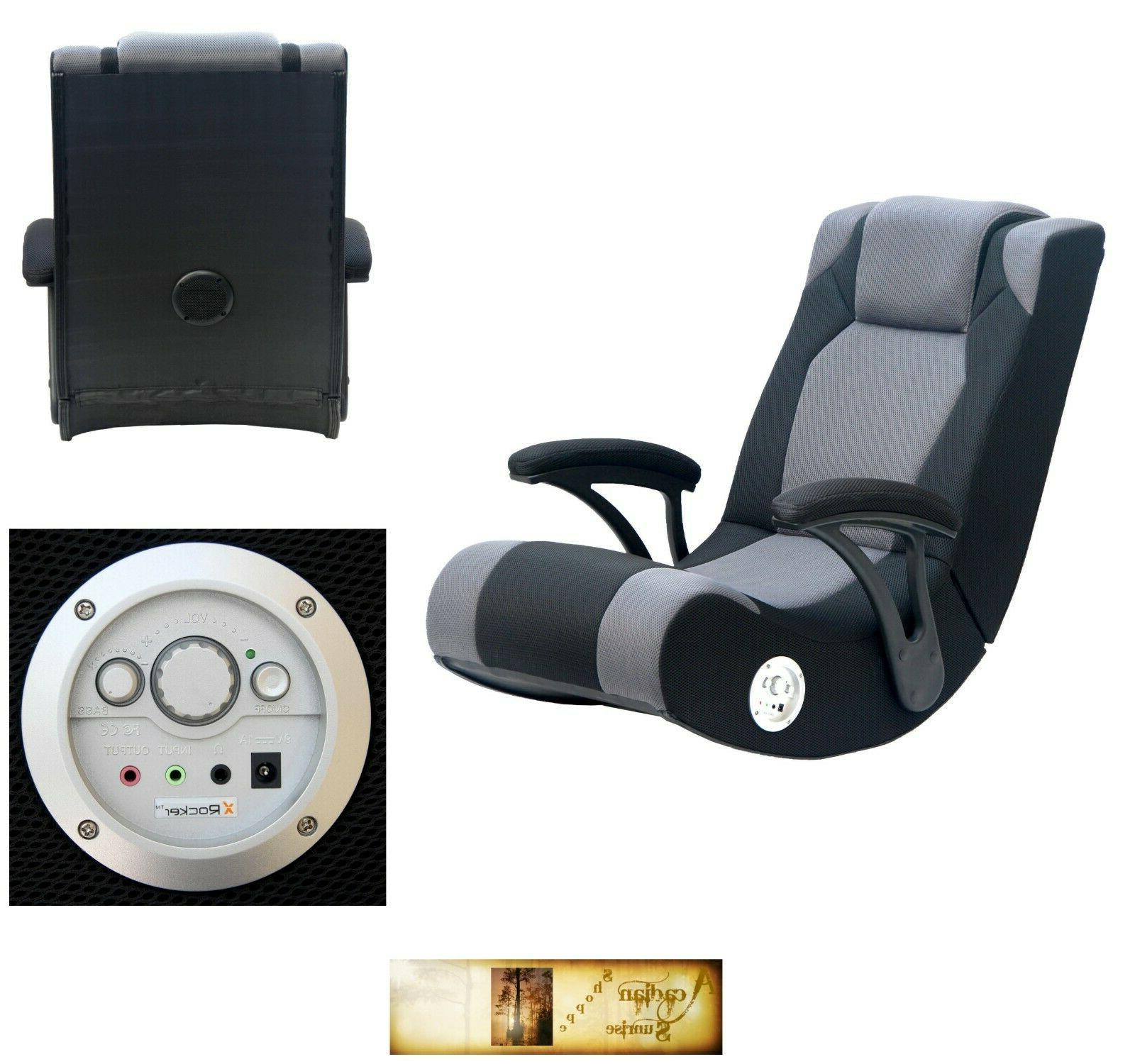 X Rocker Pro Gaming Chair Sound Enhancement Features Video G