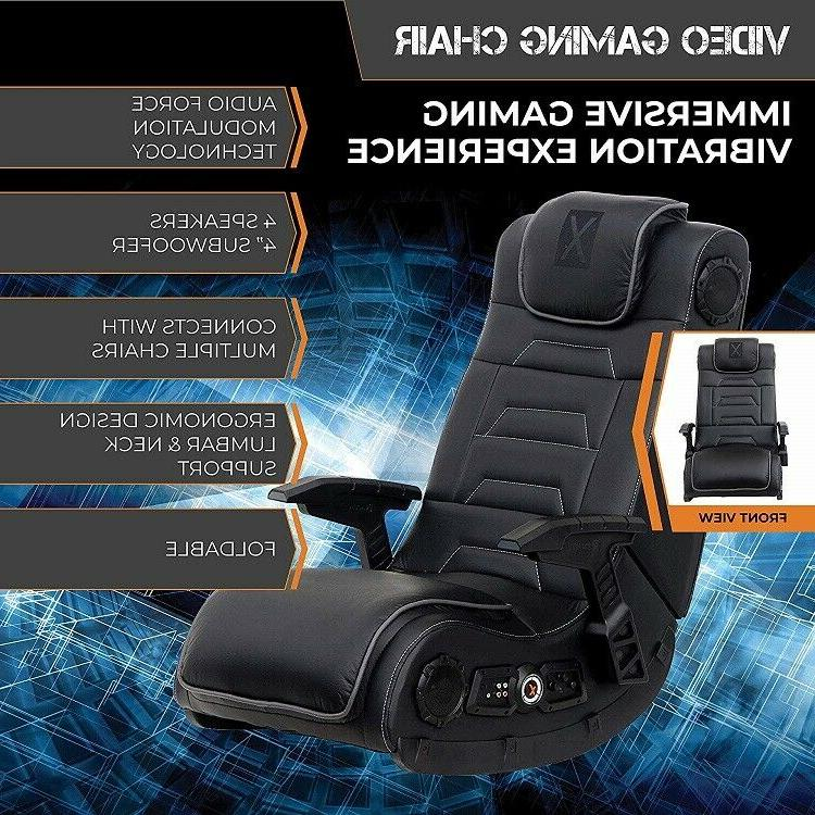 X Rocker Pro H3 Leather Floor with