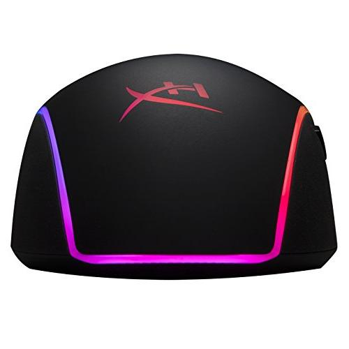 HyperX RGB Gaming Mouse, Controlled RGB Effects & Macro Pixart 3389 to 16,000DPI, 6 Buttons,