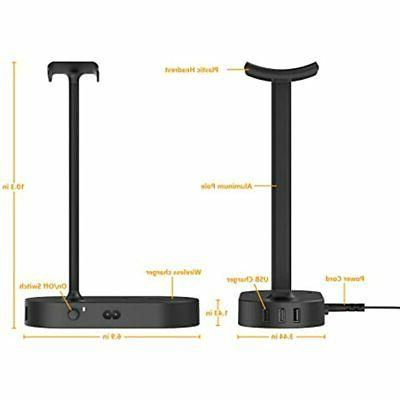 QI Stand Charger Gaming Hanger Port Charging Pad