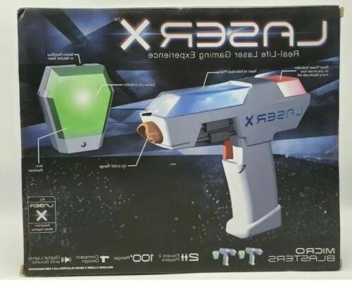 Laser X Real Life Laser Gaming Experience Blaster Players