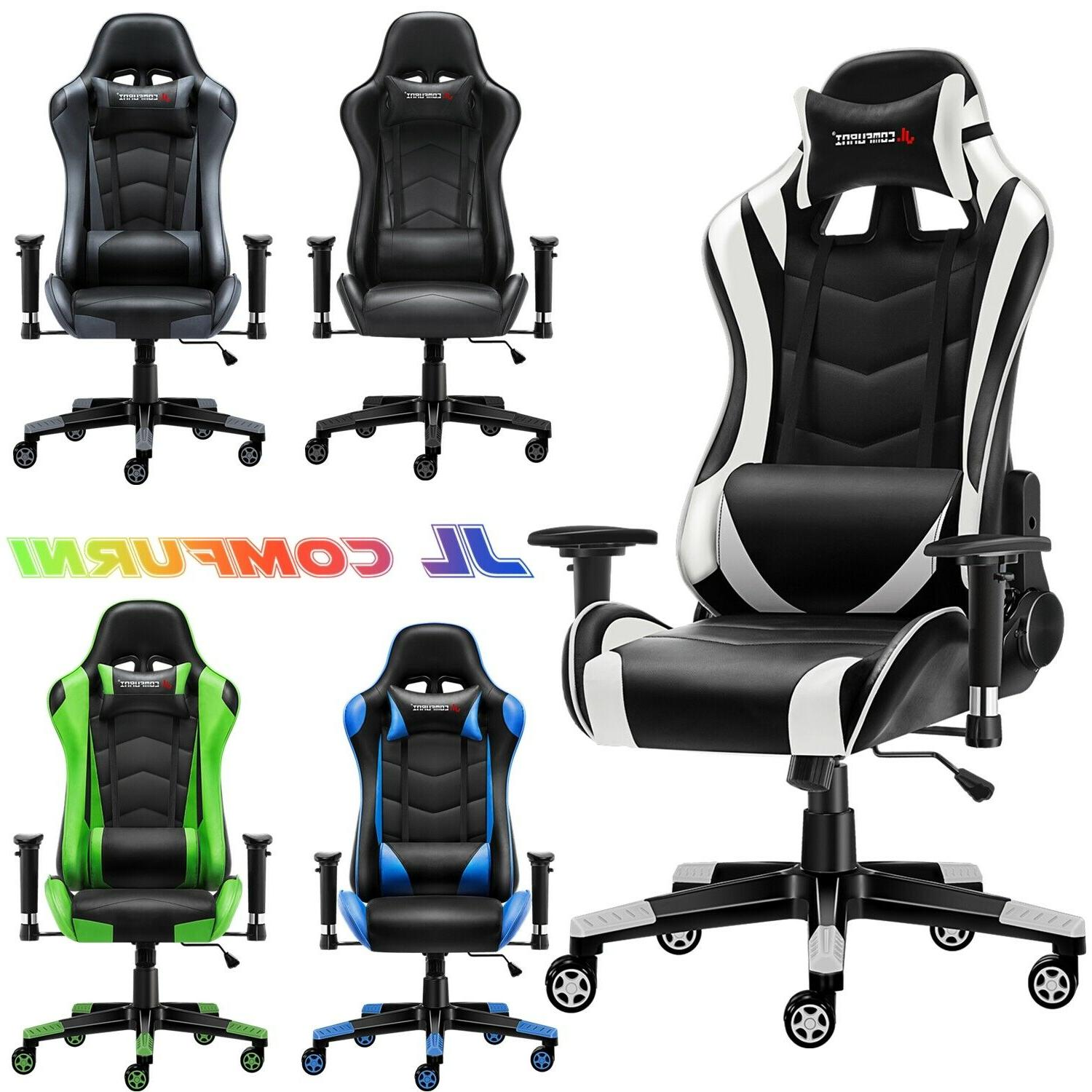 recline gaming chair ergonomic computer office chair