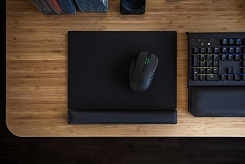 Razer Dual-Sided Surface - Optimized Form Factor - Improved Memory Foam Wrist Hard Mouse Mat