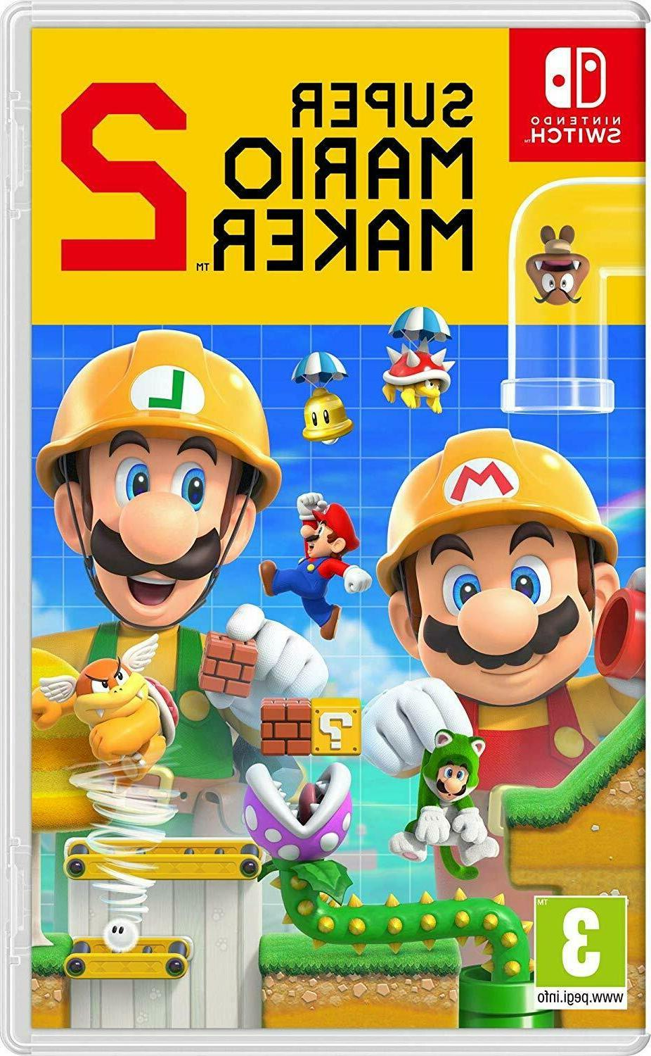 super mario maker 2 switch new